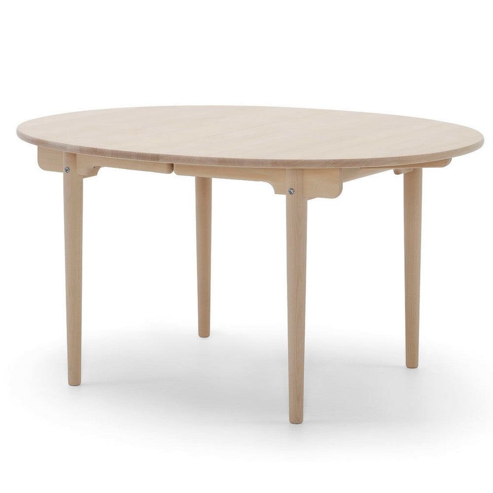 Wegner CH337 Dining Table Angled Front Carl Hansen & Son
