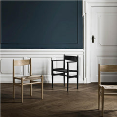 Wegner CH36 and CH37 Chairs by Carl Hansen and Son in Copenhagen Hotel