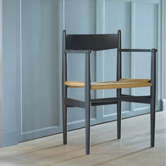 Wegner CH37 Shaker Dining Chair in Room Carl Hansen and Son
