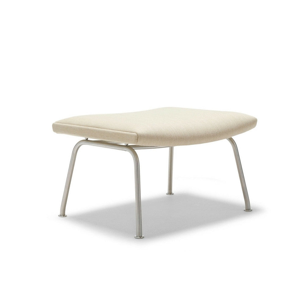 CH446 Footrest in Kvadrat Balder 3310 Fabric by Hans Wegner for Carl Hansen & Søn