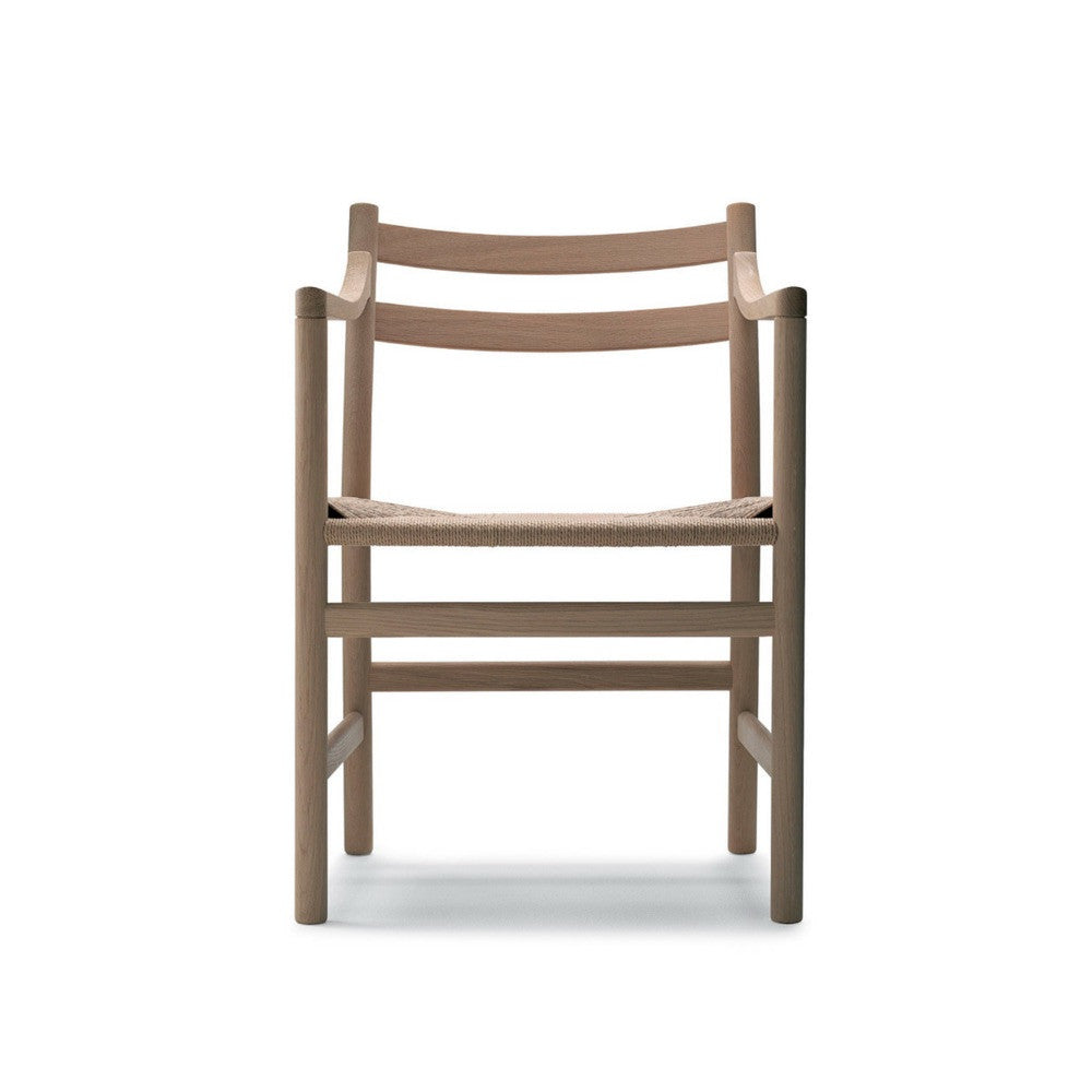 Wegner CH46 Chair Oak Front Carl Hansen and Son
