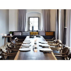 Wegner CH46 Chairs in Noma Dining Room Carl Hansen and Son