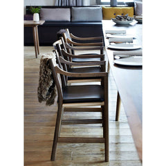 Wegner CH46 Chairs  in Noma Copenhagen Side View Carl Hansen and Son