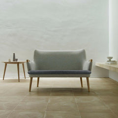 Hans Wegner CH72 Sofa in room with CH008 Coffee Table Carl Hansen and Son