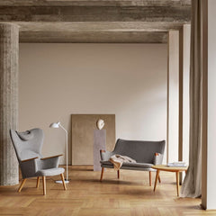 Wegner CH78 Mama Bear Chair in room with CH72 Sofa and CH008 Coffee Table by Carl Hansen
