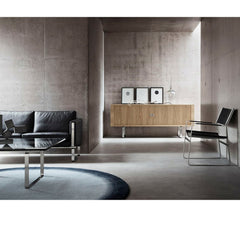 Wegner CH825 Credenza in room with CH100 Executive Collection Carl Hansen and Son