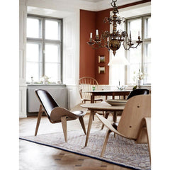 Wegner Shell Chairs in Carl Hansen and Son CEO Knut Erik Hansen's Home