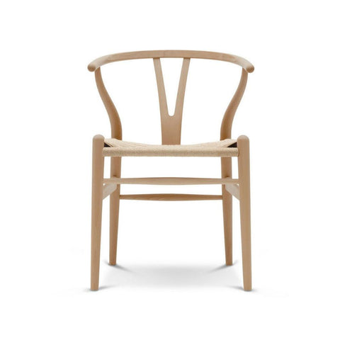 Wegner Wishbone Chair | Natural Wood | Natural Papercord