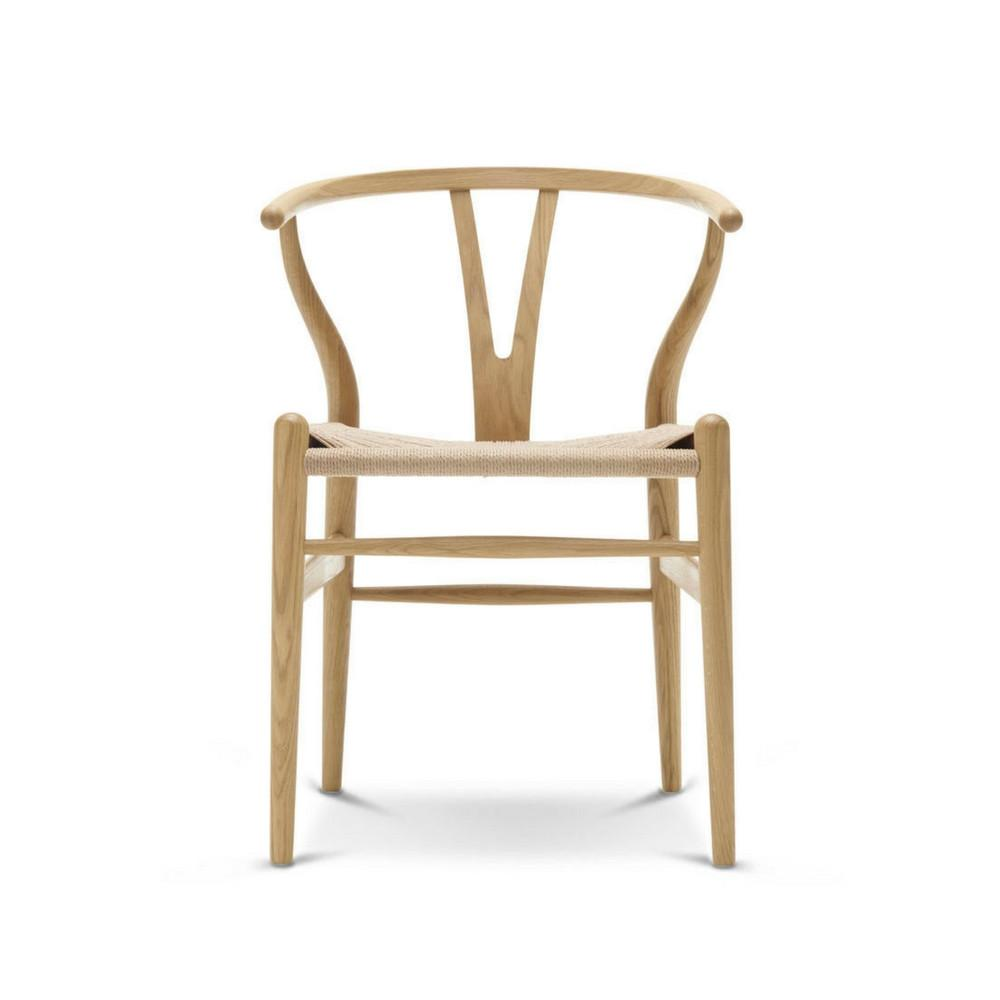 Amazing Wegner Wishbone Chair Oak With Natural Papercord CH24