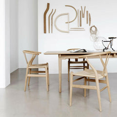 Wenger Wishbone Chairs Craftsmanship Parts as Art