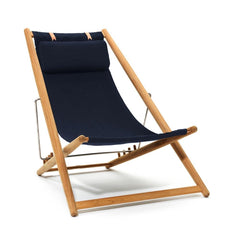 Skargaarden H55 Lounge Chair Sunbrella and Teak