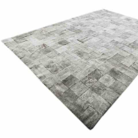 Shearling Patchwork Rug