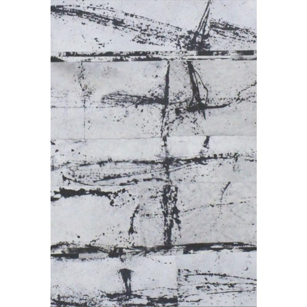 Acid Splat Cowhide Rug 6' x 4'
