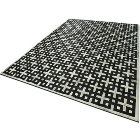 Eternity Patchwork Cowhide Rug