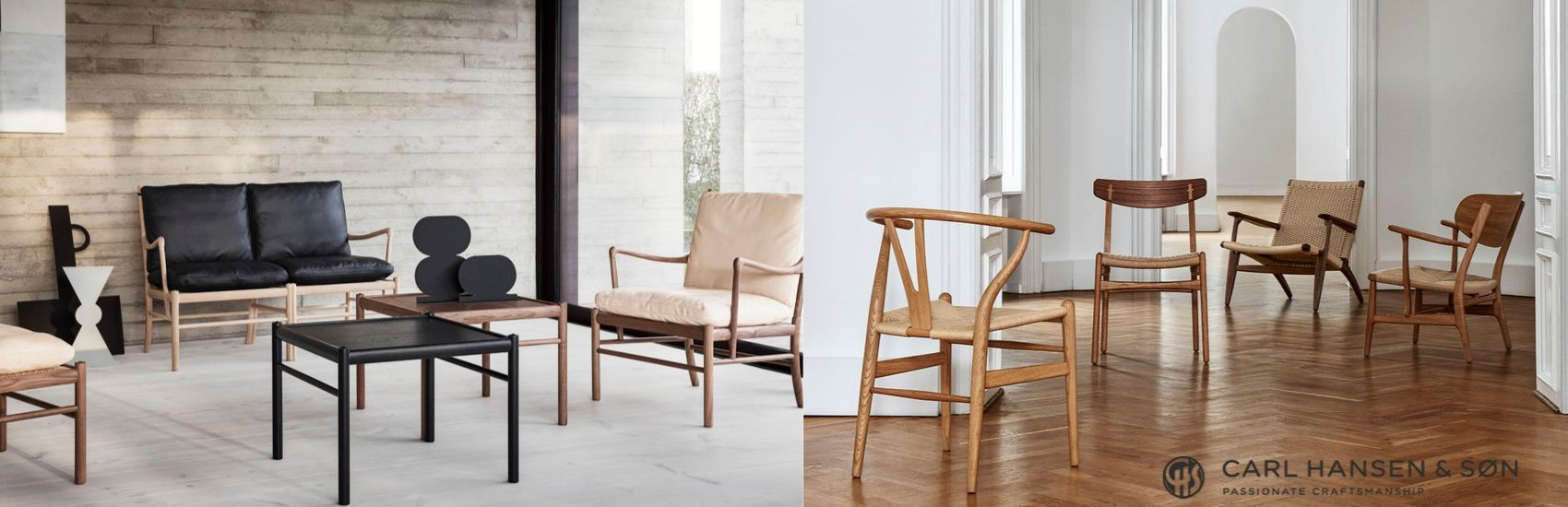 Shop Carl Hansen and Son Hans Wegner Furniture Classics
