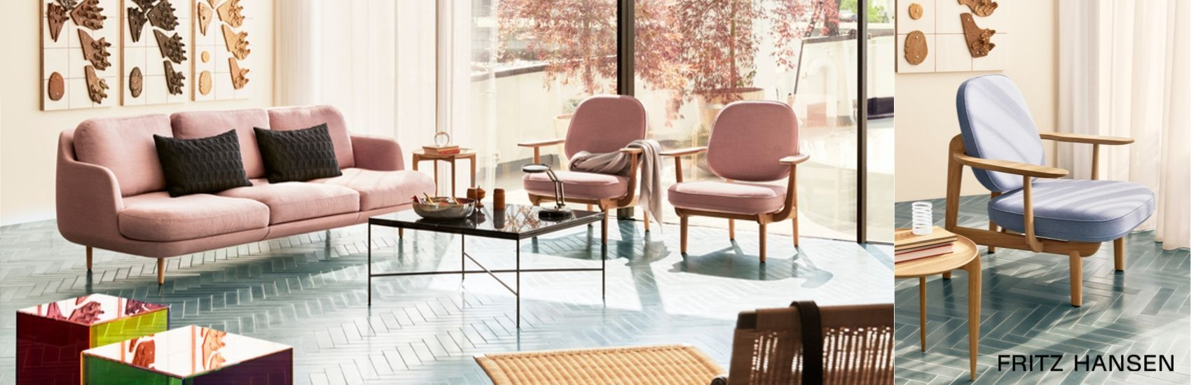 Shop Fritz Hansen Fred Lounge Chair at Palette and Parlor