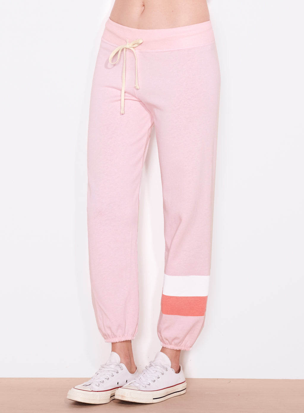 2 Tone Stripe Sweatpant (4959851446343)