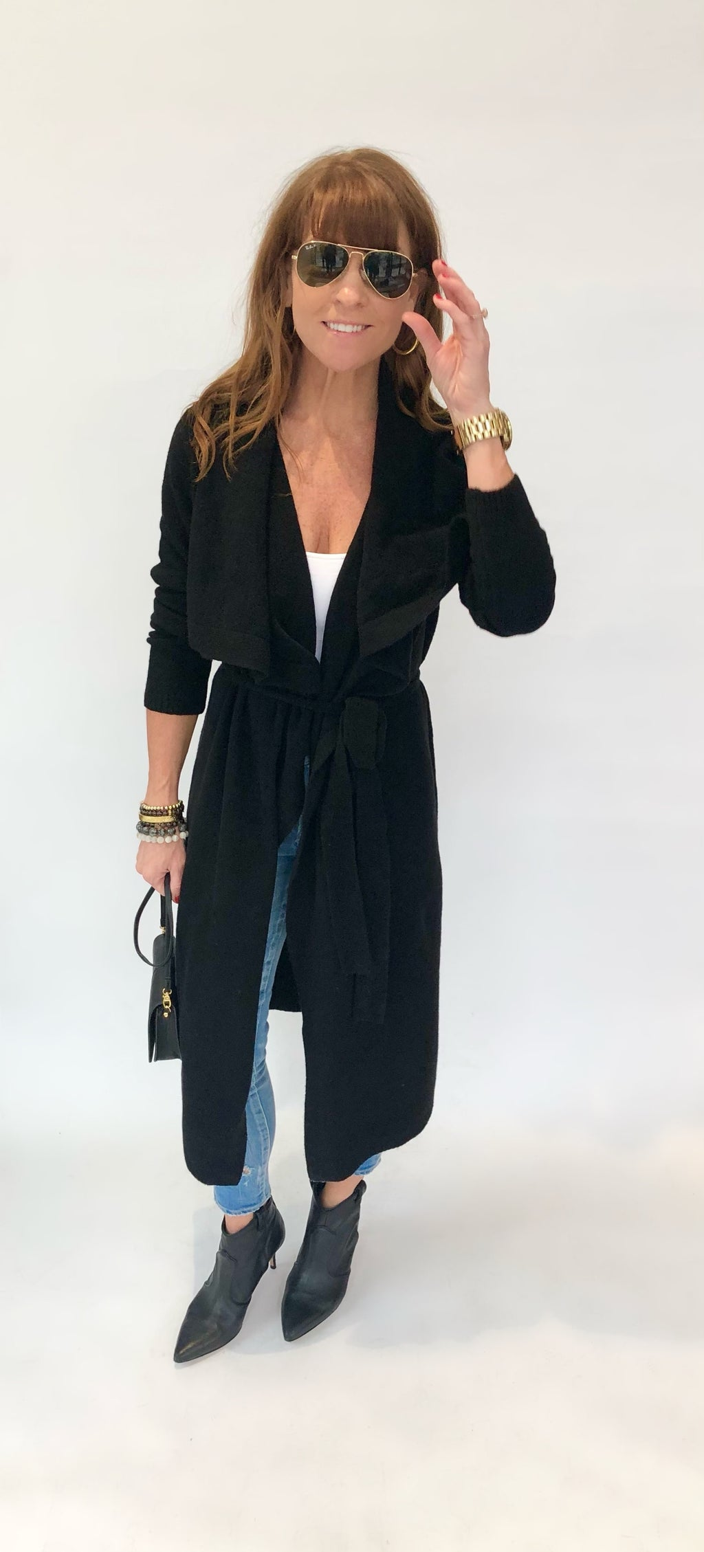 525 AMERICA BELTED WRAP CARDIGAN (4910177157191)