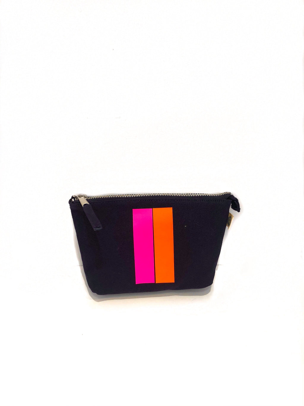 Makeup Bag Navy with Stripe (4919874191431)
