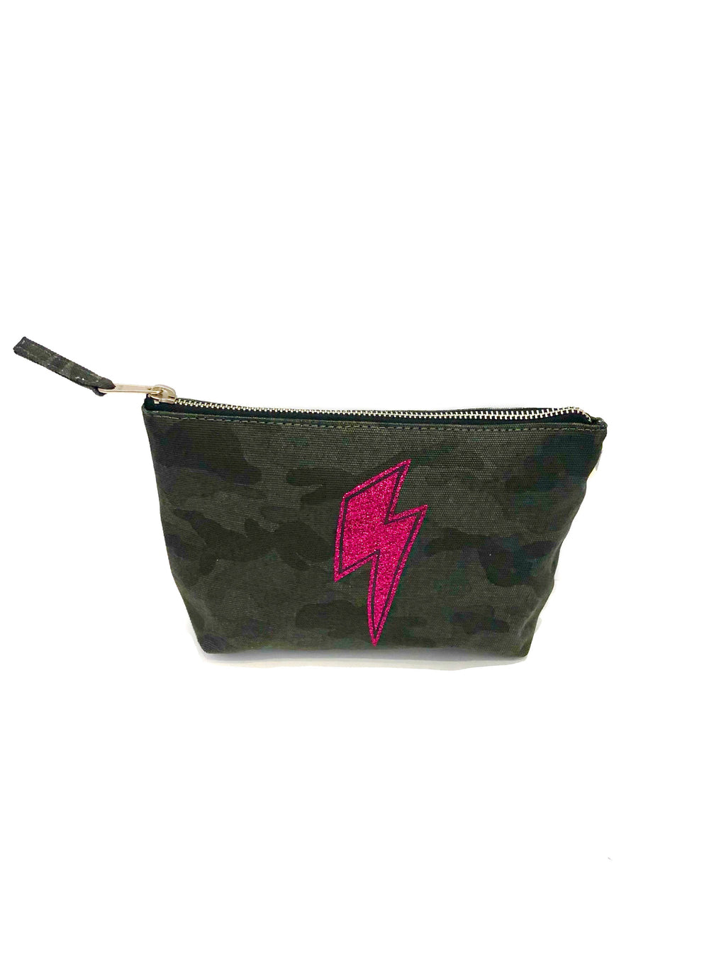 Makeup Bag Black Camo Lighteni (4919874093127)