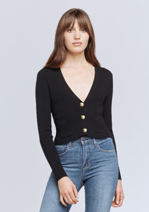 Jamie Cropped Cardigan (4919835263047)