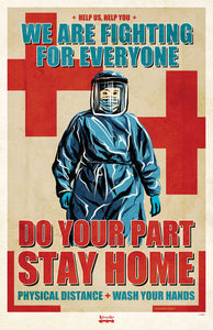 Stay Home Poster