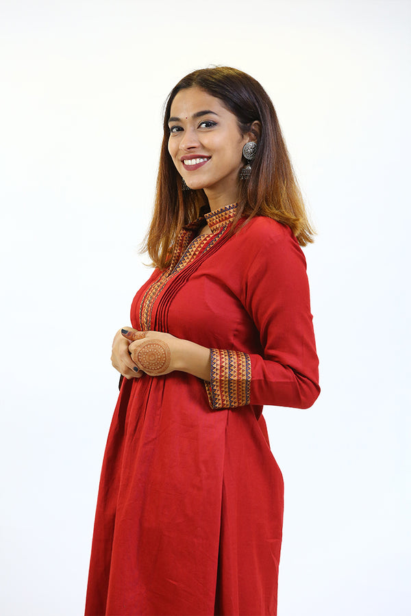 Maroon Dress/Tunic 2