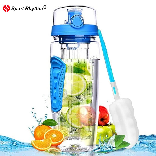 Sportrhythm™ Fruit Infuser Water Bottle BPA Free
