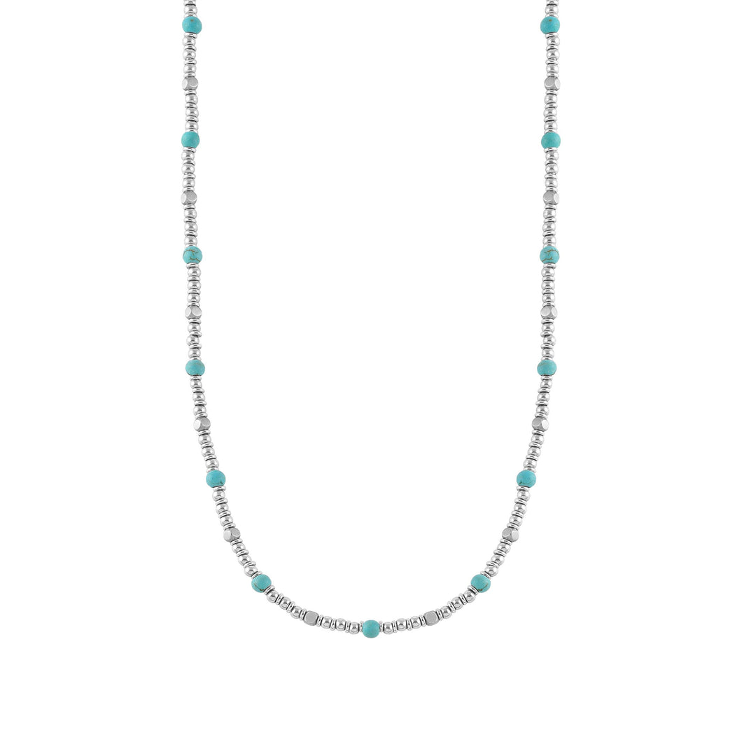 INSTINCT NECKLACE 027906/033 TURQUOISE