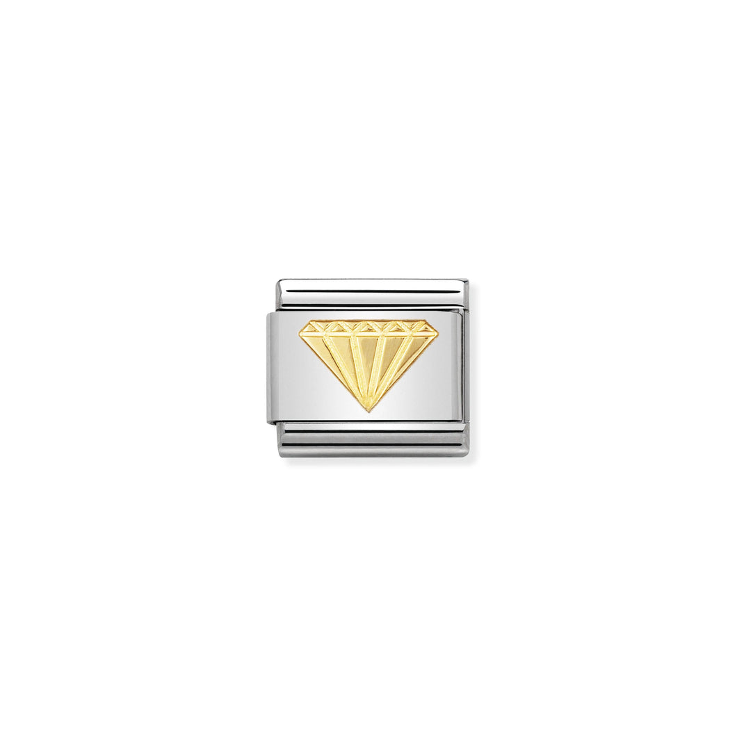 COMPOSABLE CLASSIC LINK 030115/03 DIAMOND IN 18K GOLD