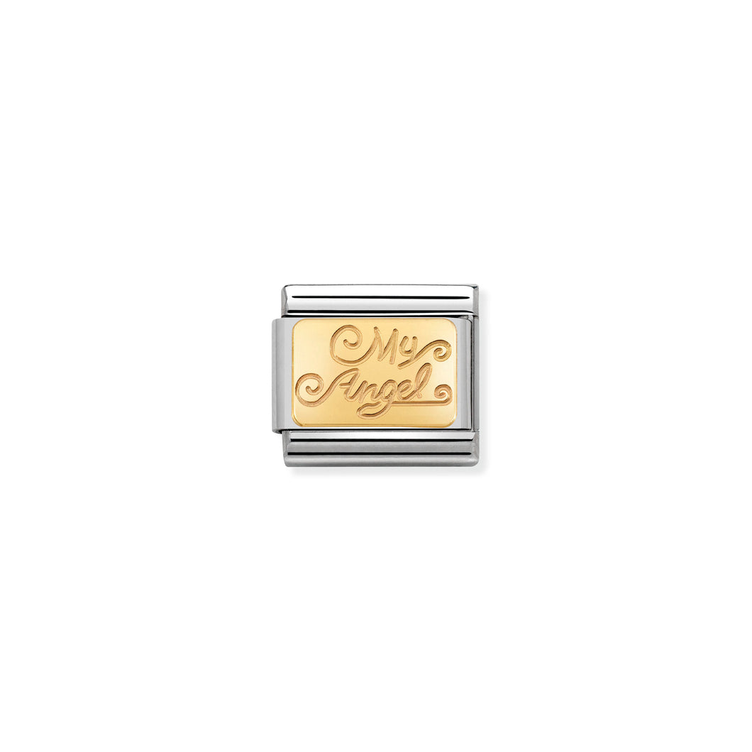 COMPOSABLE CLASSIC LINK 030121/23 MY ANGEL IN 18K GOLD