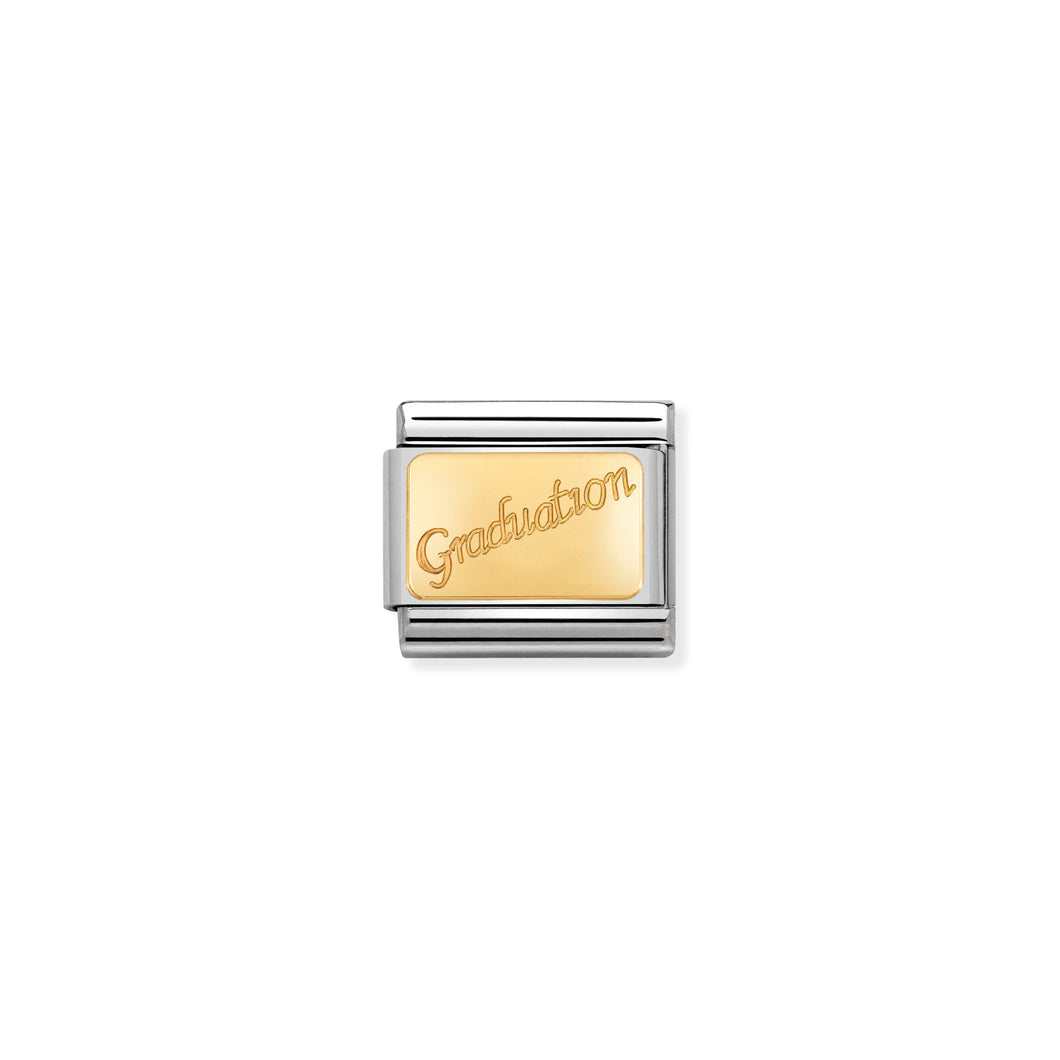 COMPOSABLE CLASSIC LINK 030121/37 GRADUATION IN 18K GOLD