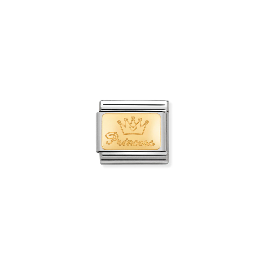 COMPOSABLE CLASSIC LINK 030121/47 PRINCESS IN 18K GOLD