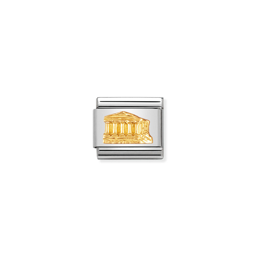 COMPOSABLE CLASSIC LINK 030123/02 PARTHENON IN 18K GOLD