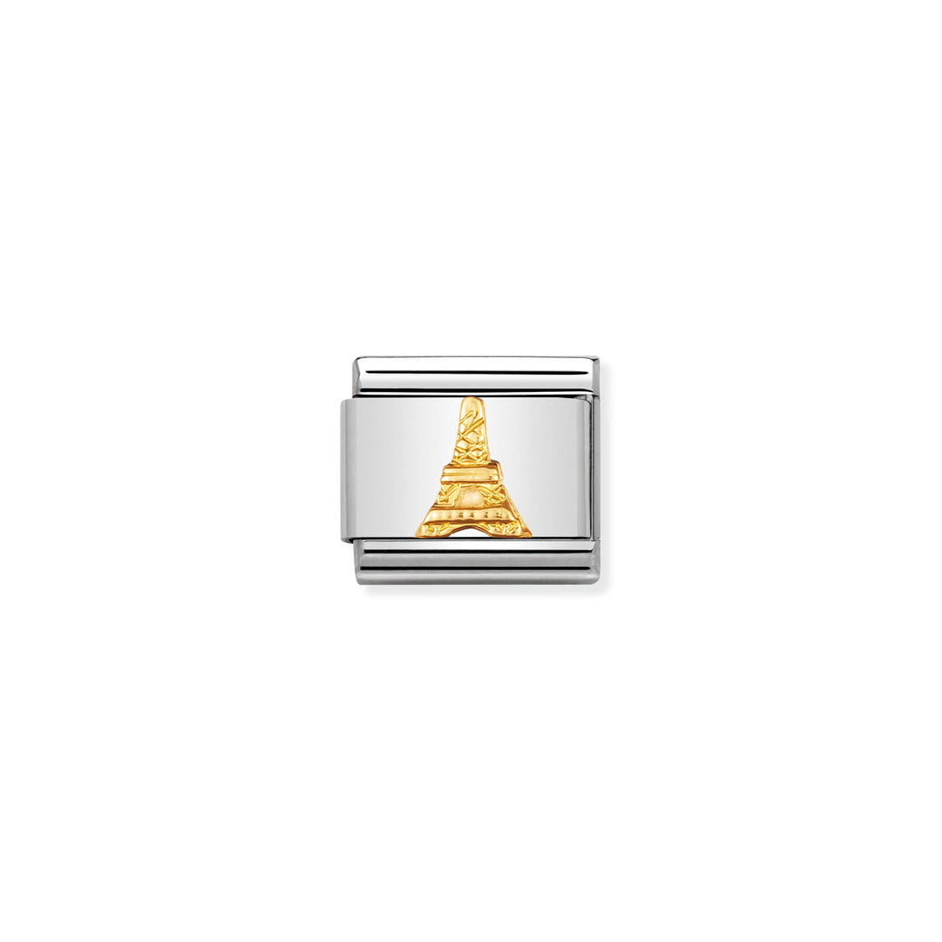 COMPOSABLE CLASSIC LINK 030123/15 EIFFEL TOWER IN 18K GOLD