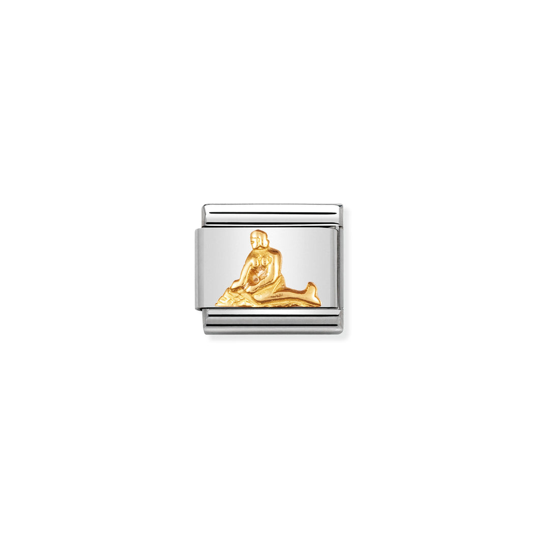 COMPOSABLE CLASSIC LINK 030123/35 MERMAID OF COPENHAGEN IN 18K GOLD