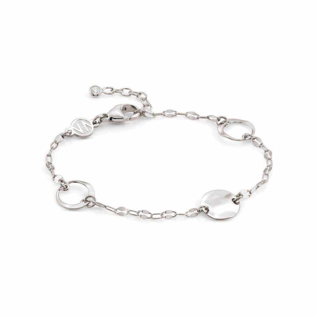 LUNA BRACELET 140440/010 SINGLE SILVER & CZ