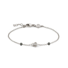 Load image into Gallery viewer, GIOIE BRACELET 146202/013 SILVER & CZ ANCHOR