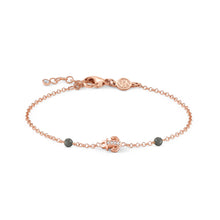 Load image into Gallery viewer, GIOIE BRACELET 146202/014 ROSE GOLD & CZ ANCHOR