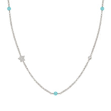 Load image into Gallery viewer, GIOIE NECKLACE 146203/015 SILVER & CZ STAR