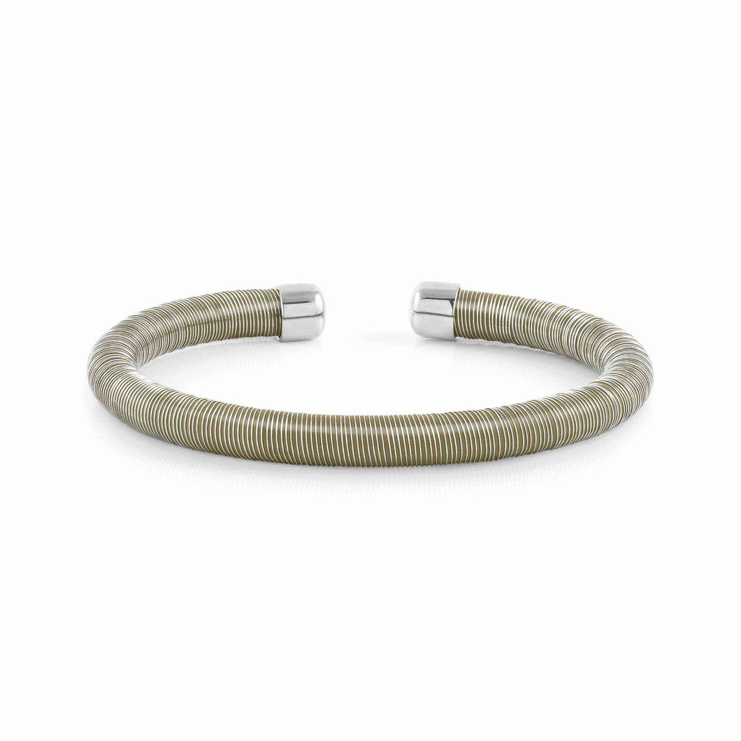 ESSENZIA BRACELET 146800/008 SILVER & GREEN