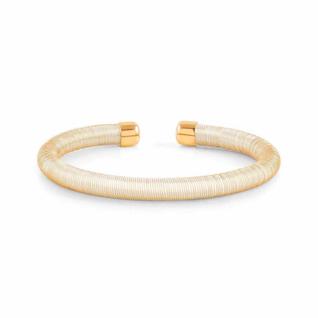 ESSENZIA BRACELET 146801/000 GOLD & WHITE