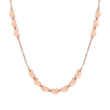 Load image into Gallery viewer, ARMONIE NECKLACE 146902/002 ROSE GOLD HEARTS