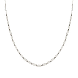 ARMONIE NECKLACE 146903/010 SILVER MULTI OVALS