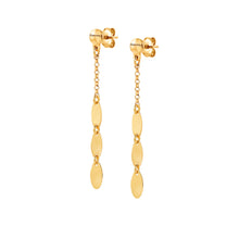 Load image into Gallery viewer, ARMONIE EARRINGS 146906/011 GOLD OVAL DROPS