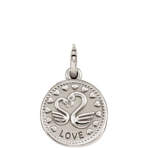 WISHES PENDANT CHARM 147303/008 LOVE