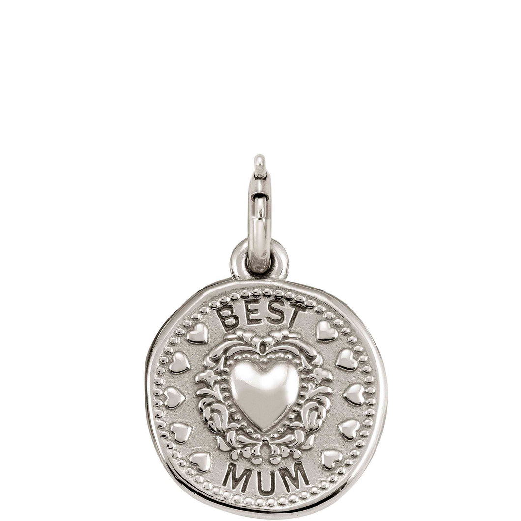 WISHES PENDANT CHARM 147303/012 BEST MUM
