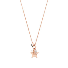 Load image into Gallery viewer, EASYCHIC NECKLACE 147902/046 ROSE GOLD BEST SISTER STAR
