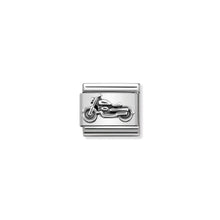 Load image into Gallery viewer, COMPOSABLE CLASSIC LINK 330101/32 VINTAGE MOTORBIKE IN 925 SILVER