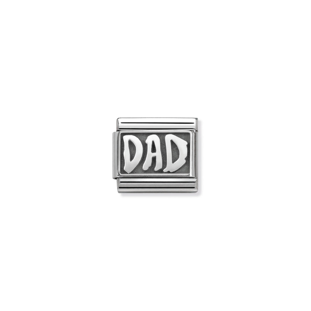 COMPOSABLE CLASSIC LINK 330102/30 DAD IN 925 SILVER
